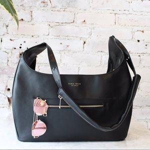 ❤️ Mina Baie Leather Diaper Bag/Travel Bag